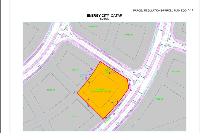 plot for sale in Lusail