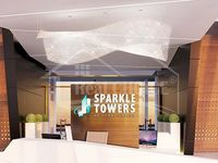 Studio Apartment in Sparkle Tower 2