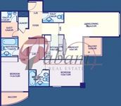 2 Bedrooms Apartment in Lake Point